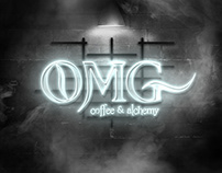 OMG Coffee & Alchemy (student work)