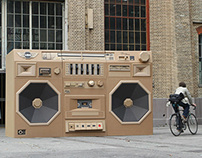 Mini - Ghettoblaster / The Paper Stuff