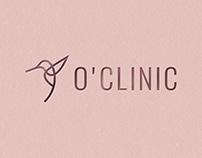Logotype and brand identity O'Clinic