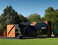 NIke FuelStation Popup