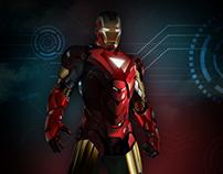 Iron Man Vector Illustration