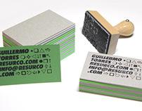 Resurco business cards