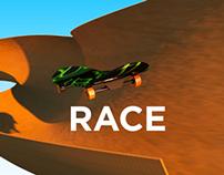 Skateboard Race