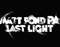 matt pond PA / last light album art