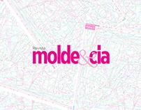 Diagramação para revista Molde&Cia