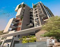 Manama Charulata   10 Storied Apartment Building Dhaka.