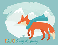 Anna Łajming Fairy Tales Illustrations