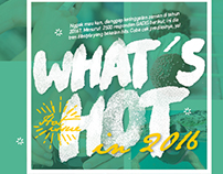 "Hot Issue ""What's Hot"""