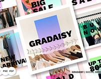 Gradaisy Pack Social Media #84069