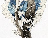 """Illustrations for e-book """"成すも成さぬもないのだが"""" #3"""