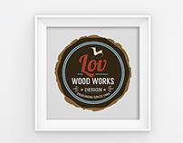 LOV WOODS LOGO & Branding Design