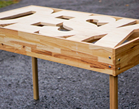 Typography Desk | Handmade Furniture Awesomeness
