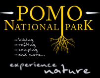 Pomo National Park // Promotional Banners & Logo