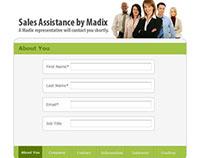 Sales Assistance Form