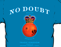 NO DOUBT : Tragic Kingdom Tour Shirt