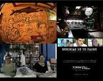 Trabajo de edición, sonido y producción en Documentales