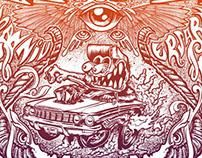 Bottrop Kustom Kulture 2012 Poster