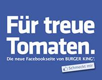 "Burger King Anzeige ""Tomaten"""