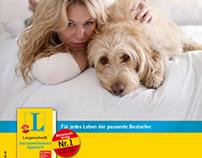 """Langenscheidt Kampagne """"Für jedes Leben"""""""