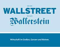 """Augsburger Allgemeine Folder """"Wallstreet"""""""