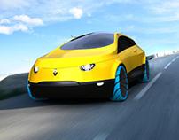 Renault R4 [Designboom Renault 4 ever finalist]