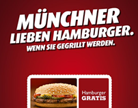 "Burger King Flyer ""Hamburger"""