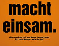 "Sixt Recruitment-Kampagne ""Typo"""