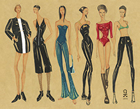 Fashion Illustration 1_Leather Collection