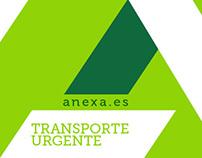 Branding. Anexa - Transporte Urgente