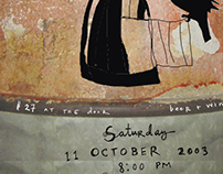 Music Poster for St. Ann's Warehouse