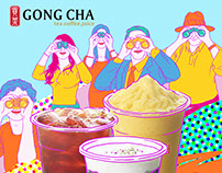 Flyer for Gong Cha