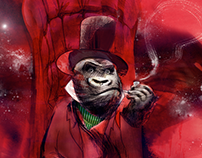24/7 Prayer - Gorilla Illustration