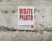 """""""VISIT SHOW FLAT"""" The Salvation Army Campaing"""