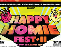 Happy Homie Fest Flyer