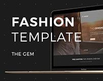 Fashion E-commerce Template for The GEM