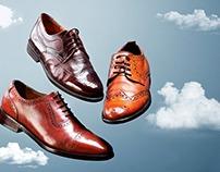 Advertising shoes polish