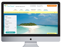 Five Travel web page