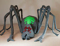 Kenneth the Spider Puppet