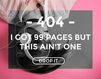 Daily UI Challenge: 404 page