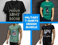 Military T-Shirt Design Bundle
