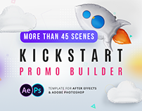 Kickstart Promo Builder - After Effects Template