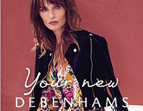 Debenhams promotional Door drop - 6 page gatefold