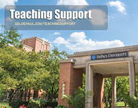 DePaul Univeristy - Teaching Support Flyer