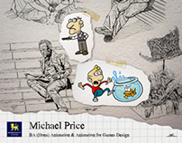 Michael Price: BA (Hons) Animation image portfolio