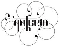 Santeria Lettering Concept