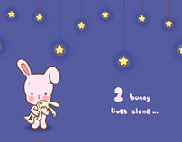 BUNNY COUNTING--INTERACTIVE PICTURE BOOK FOR IPAD
