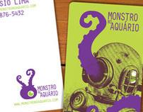 Monstro no Aquário Bussines Card -