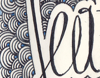 Hand lettering: Seattle