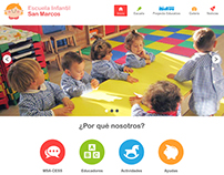 Responsive Web Design - Escuela Infantil San Marcos