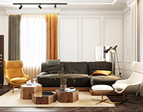 Дизайн дома в тёплых тонах восточных специй